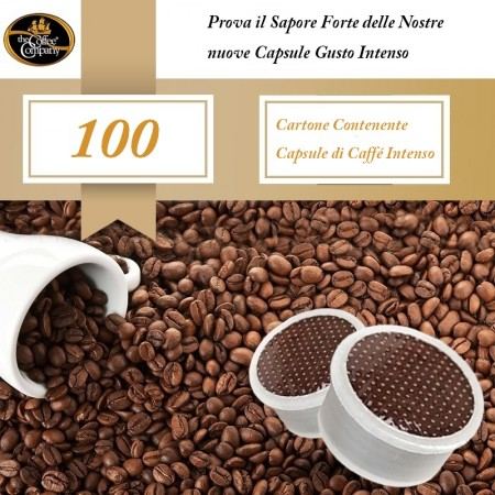 CAFFÉ ESPRESSO GUSTO INTENSO CARTONE DA 100 CAPS